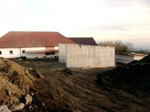 Baustelle November 09
