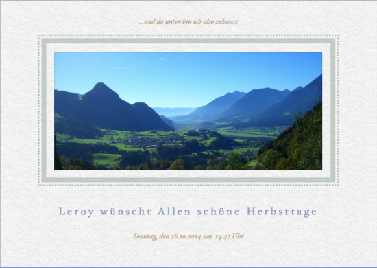 Leroy in Tirol