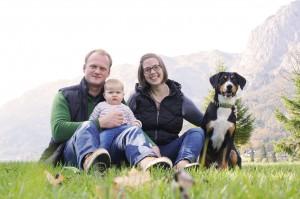 Hund und Kind  Familienhund