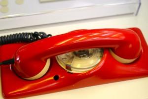 Das rote Telefon, die direkte Verbindung zum Bundeskanzler ( Störfall)