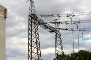 Stromzufuhr, gebraucht für Störungen und nach Abschaltung des AKW.