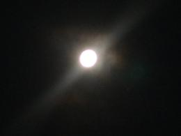 Heute leuchtet ein voller Mond in einer lauen Weihnachtsnacht