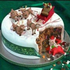 Was ist da für tolle Torte?