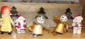 Weihnachtsdekorationen unsere Kinder Hände
